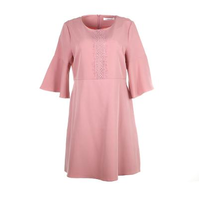 Jolie Belle Sleeve dress blush pink [UK14]